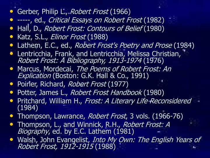 Gerber, Philip L.,