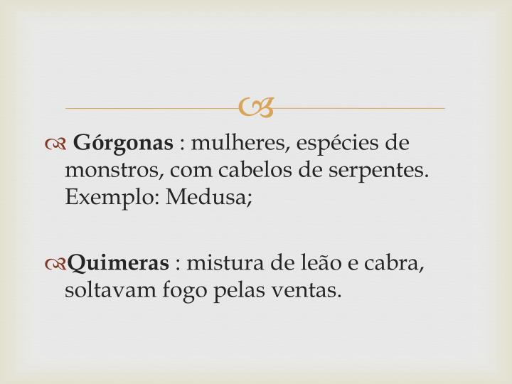 Górgonas