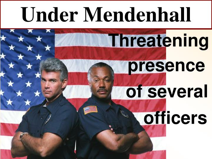 Under Mendenhall