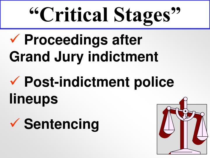 """""""Critical Stages"""""""