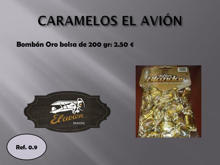 CARAMELOS EL AVIÓN