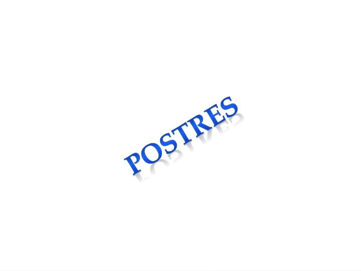 postres