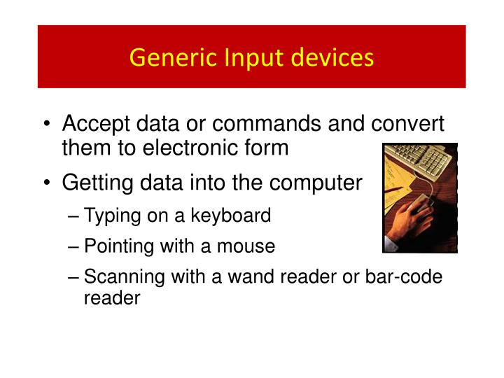 Generic Input devices