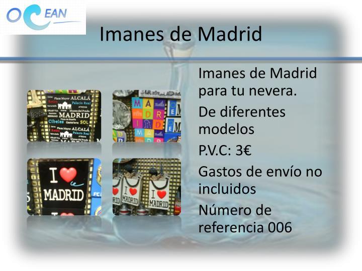 Imanes de Madrid