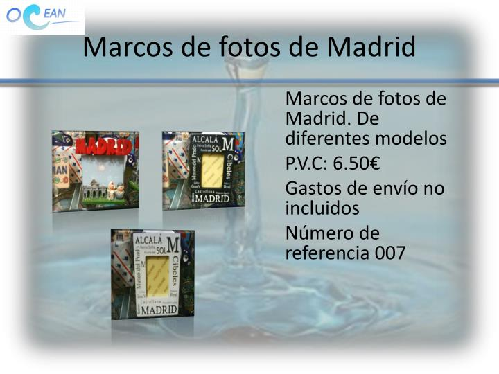 Marcos de fotos de Madrid