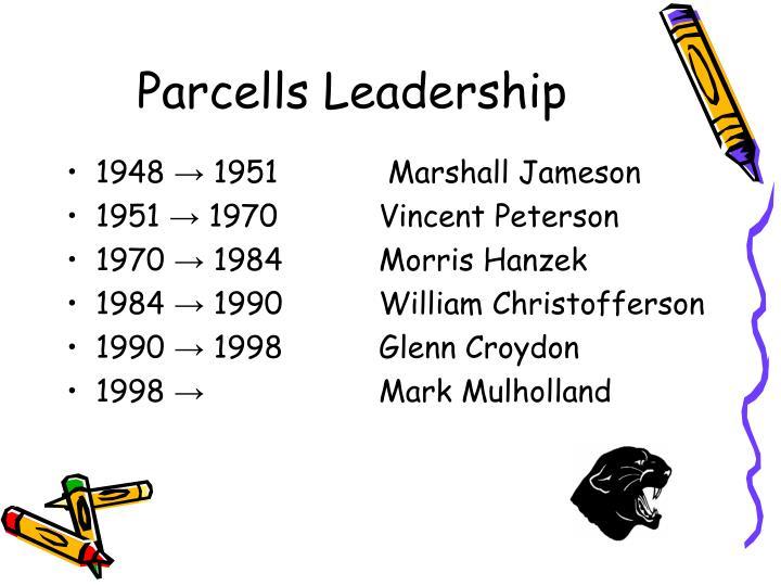 Parcells Leadership