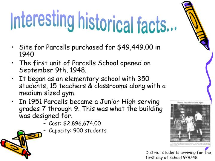 Interesting historical facts...