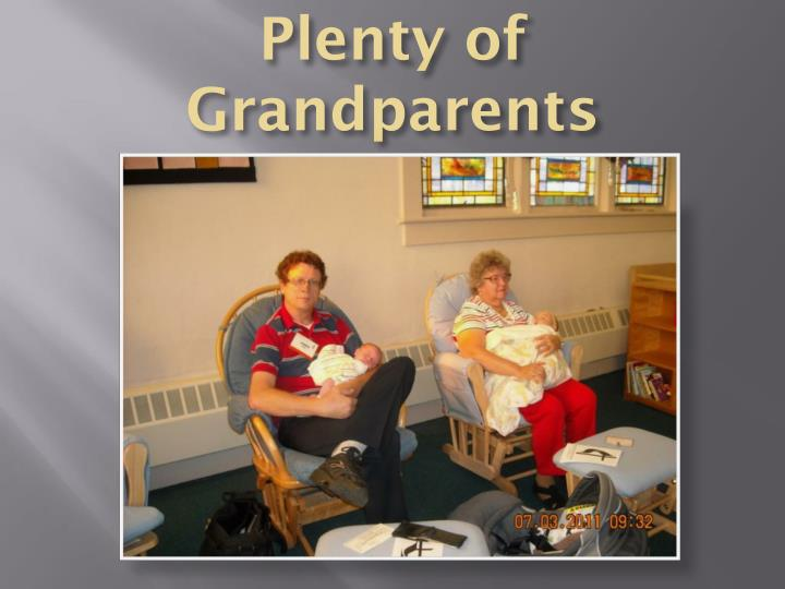 Plenty of Grandparents