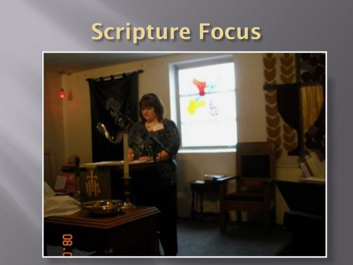 Scripture Focus