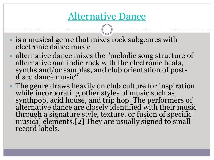 Alternative Dance