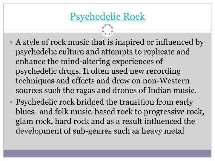 Psychedelic Rock
