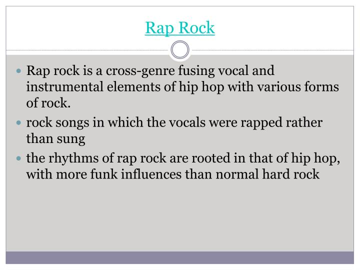 Rap Rock