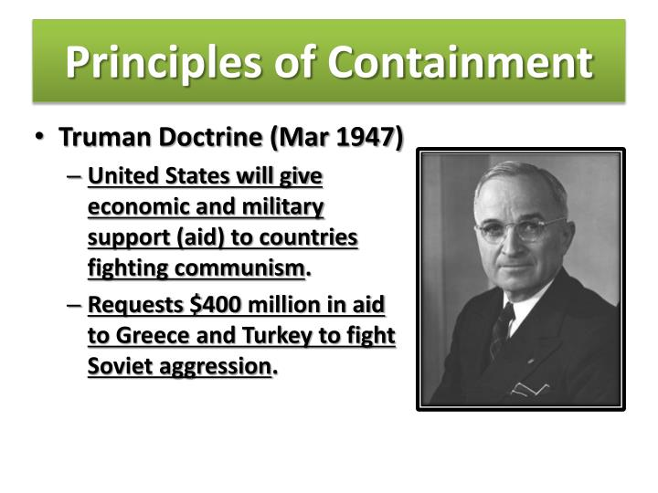 Principles of Containment
