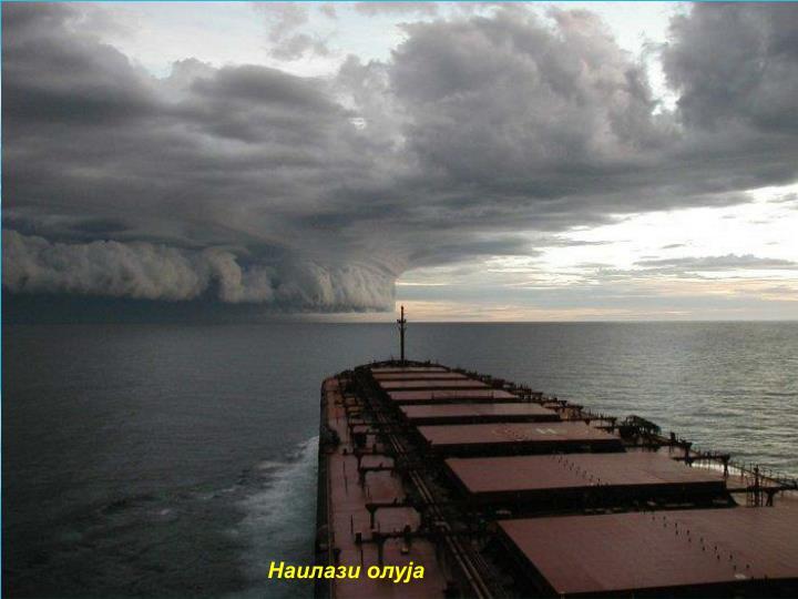 Наилази олуја