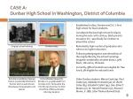 case a dunbar high school in washington district of columbia