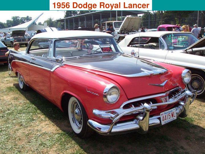 1956 Dodge Royal Lancer