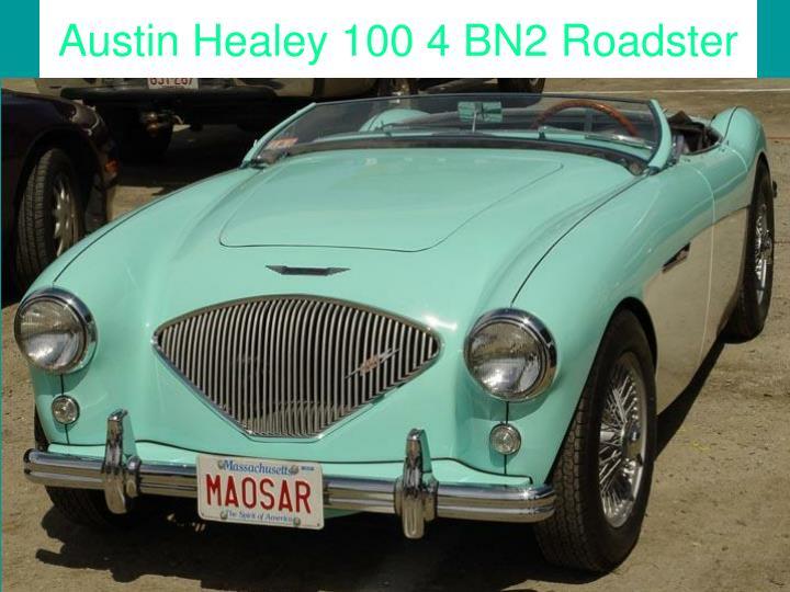 Austin Healey 100 4 BN2 Roadster