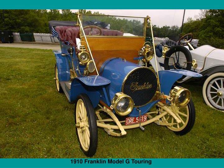 1910 Franklin Model G Touring