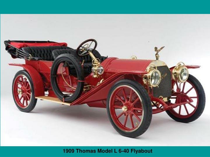 1909 Thomas Model L 6-40 Flyabout
