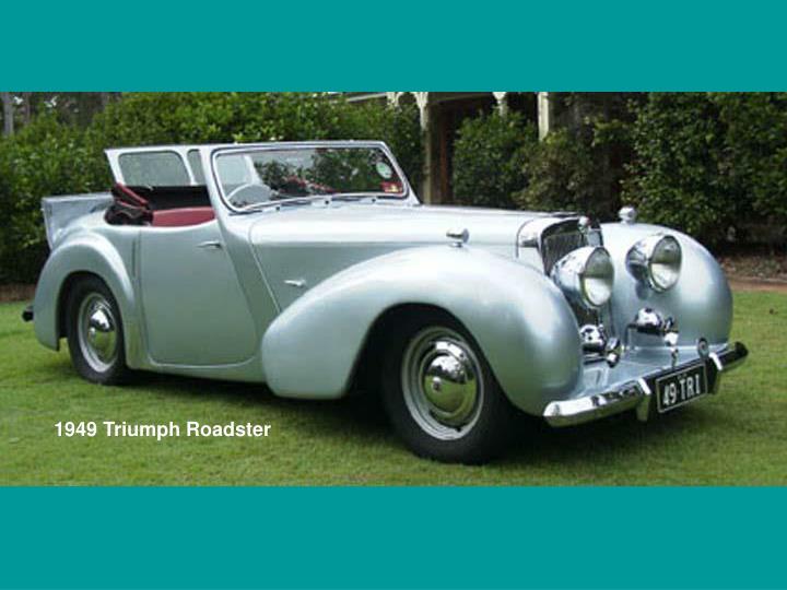 1949 Triumph Roadster