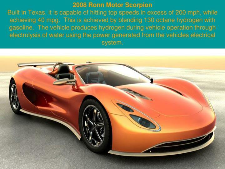 2008 Ronn Motor Scorpion