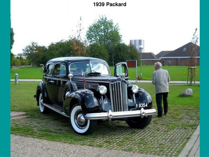 1939 Packard