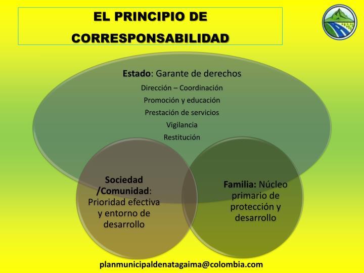 EL PRINCIPIO DE CORRESPONSABILIDAD