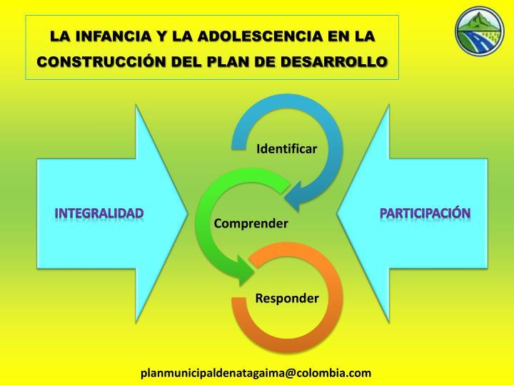 LA INFANCIA Y LA ADOLESCENCIA EN LA CONSTRUCCIÓN DEL PLAN DE DESARROLLO