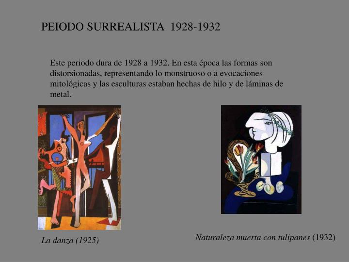 PEIODO SURREALISTA  1928-1932