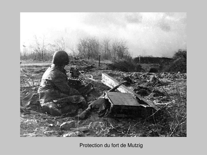 Protection du fort de Mutzig