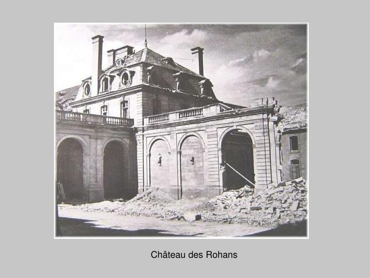 Château des Rohans