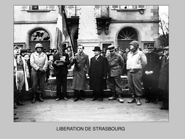 LIBERATION DE STRASBOURG