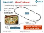 edm at cosy cooler synchrotron1