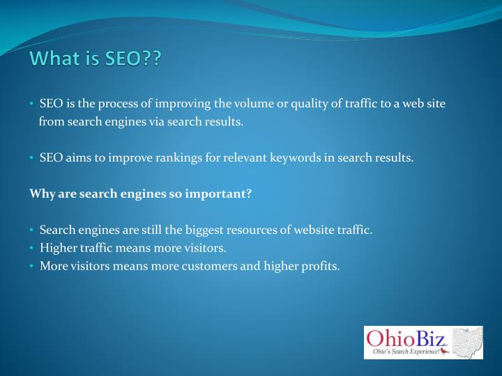 What is SEO??