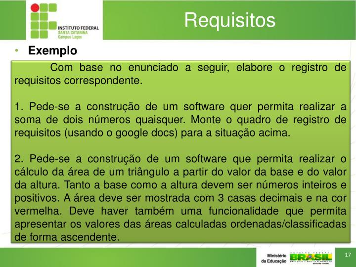 Requisitos