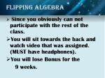 flipping algebra6