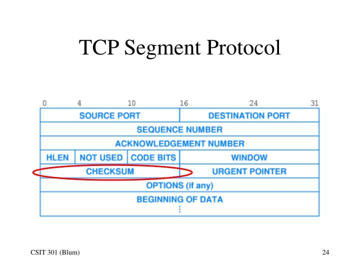 TCP Segment Protocol