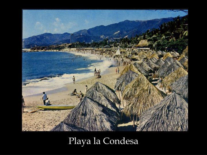 Playa la Condesa