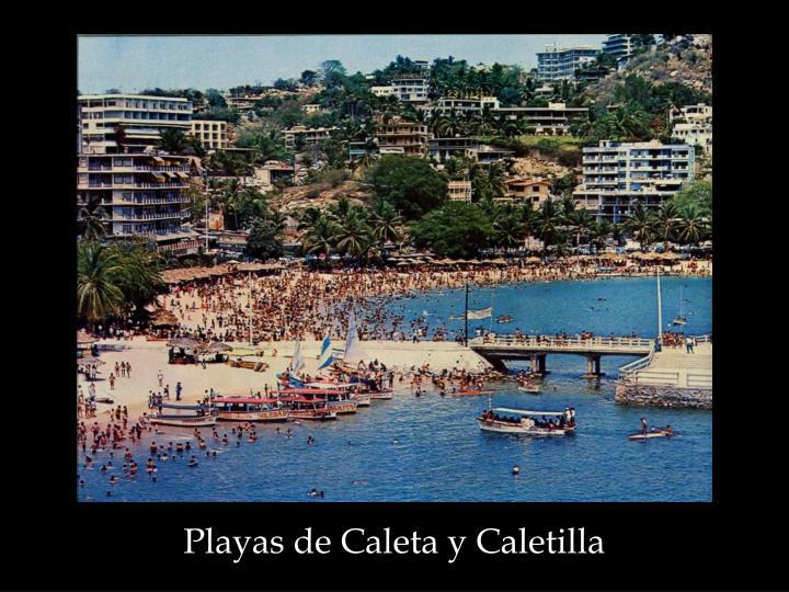 Playas de Caleta y Caletilla