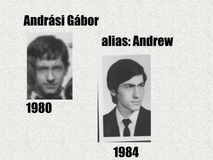 Andrási Gábor