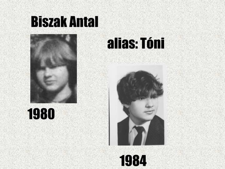 Biszak Antal