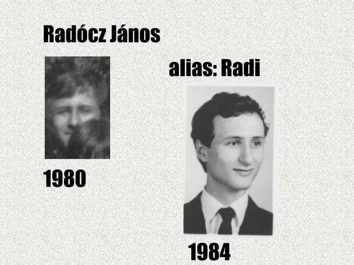 Radócz János
