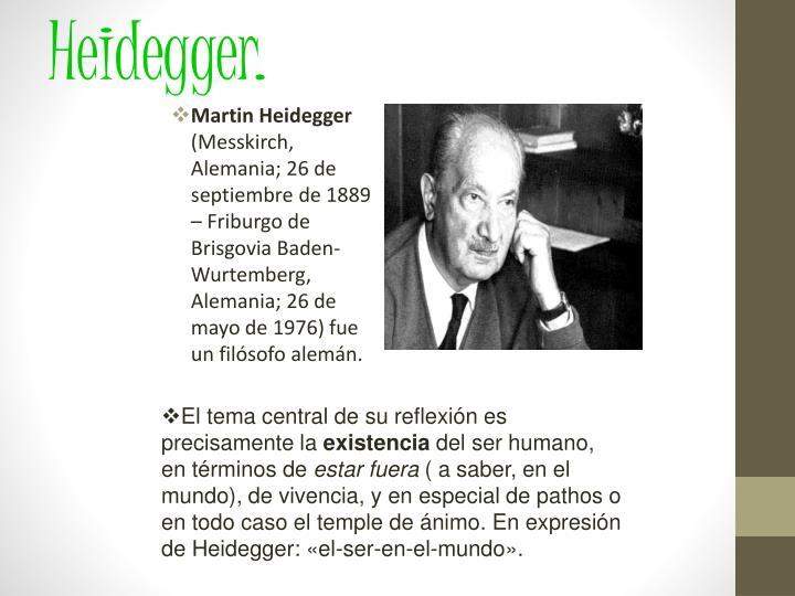 Heidegger.