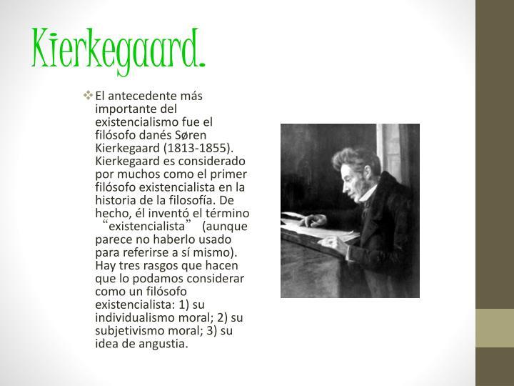 Kierkegaard.