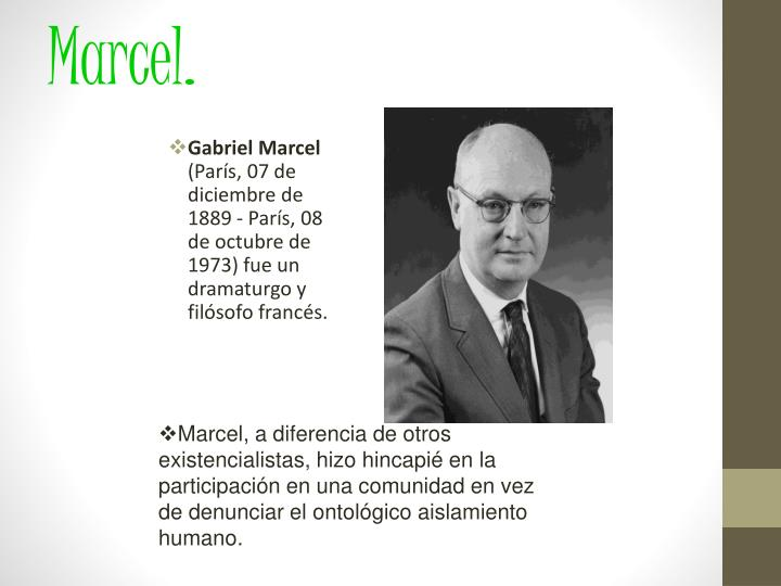 Marcel.