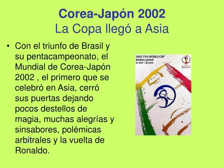 Corea-Japón 2002