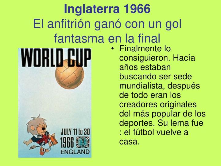 Inglaterra 1966
