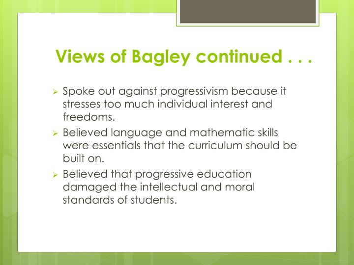 Views of Bagley continued . . .