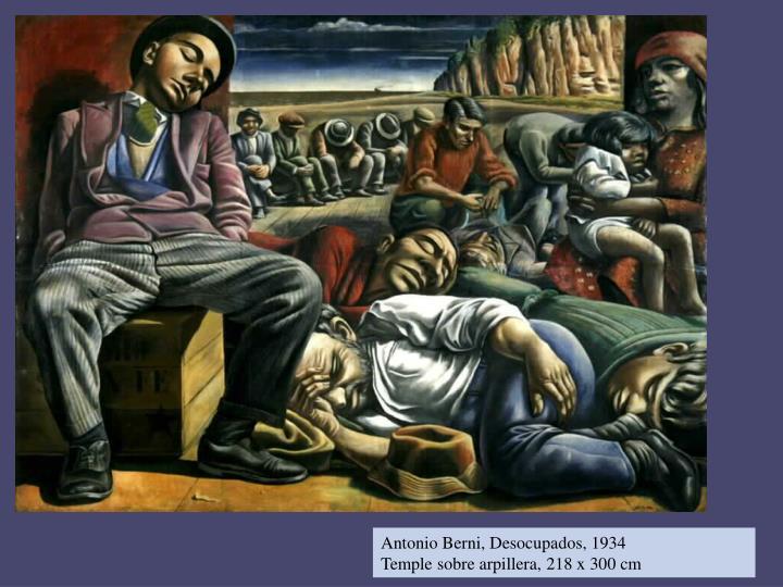 Antonio Berni, Desocupados, 1934