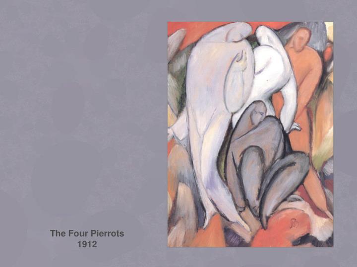 The Four Pierrots